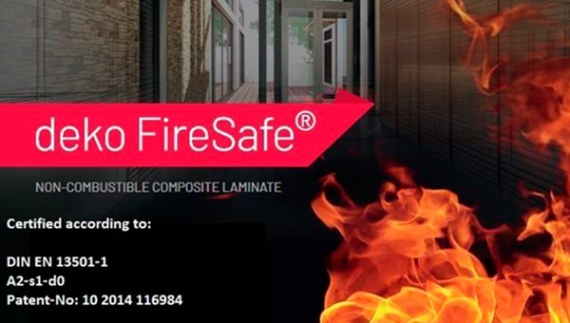 FireSafe® - non combustible composite laminate