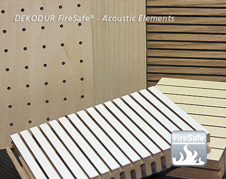 deko FireSafe® Acoustic Elements