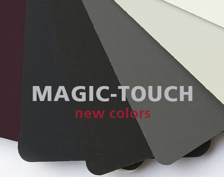 Magic Touch complemented with new colours