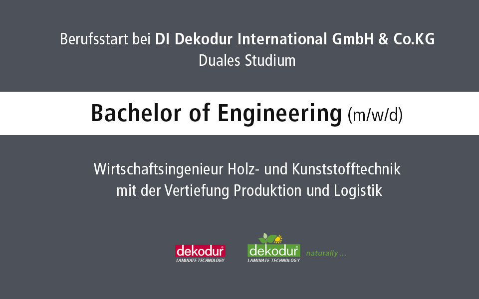 Bachelor of Engineering  (m/w/d)